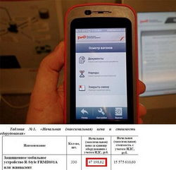Российская железная дорога выпускает свой смартфон