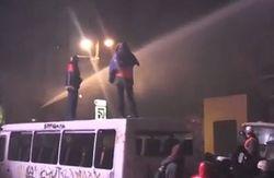 Водометы были задействованы только для тушения пылающей техники – МВД