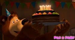 """На Youtube вышел трейлер новой серии мультфильма """"Маша и медведь: Раз в году"""""""