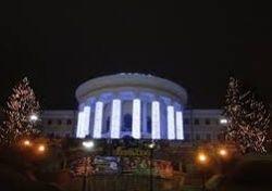 Холод и сон побудили митингующих занять Октябрьский дворец в Киеве