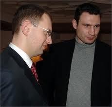 Яценюк и Кличко назвали торговую войну России против Украины вызовом Европе