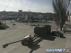 В Крыму появились крупнокалиберные пушки