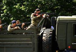 3 июня в Славянске началось с ожесточенной перестрелки