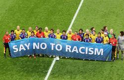 В спорте нет места расизму