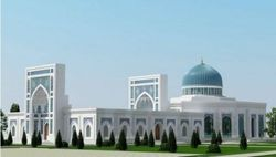 На берегу канала Анхор в Ташкенте строят самую большую мечеть Узбекистана