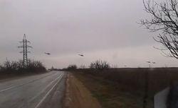 Российские вертолеты пересекли границу Украины