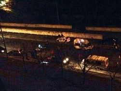 В Киеве расстреляли патруль ГАИ