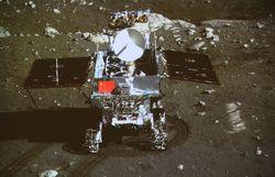 """Китайский луноход продолжит исследование Луны после окончания """"лунной ночи"""""""