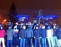 В Симферополе футбольные фанаты атаковали Антимайдан