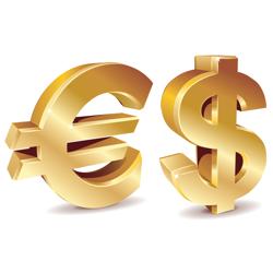 Евро вырос против курса доллара на 0,27% на Форекс: газовая война продолжается