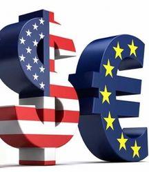 Курс евро на Forex торгуется во флете в конце дня