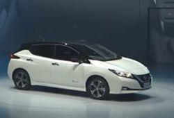 Представлен новый Nissan Leaf без педали тормоза
