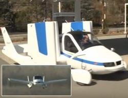 стартуют предзаказы на летающий автомобиль