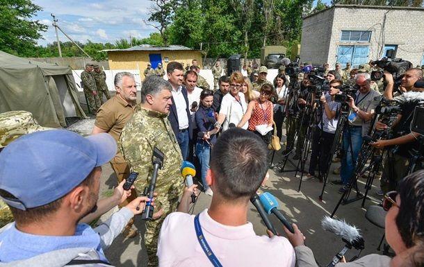 Турчинов призвал отменить военную операцию вДонбассе