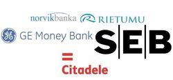 Названы 25 самых популярных банков Латвии января 2015 г.