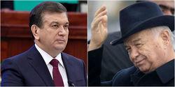 Шавкат Мирзияев и Ислам Каримов
