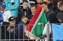 Скандал: в России публично сожгли флаг Чечни