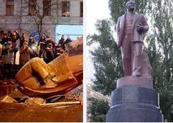 В Киеве могут восстановить снесенный памятник Ленину