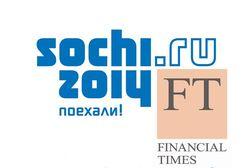 """Права ли Financial Times, называя надежду рекламодателей на Сочи-2014 """"рискованной ставкой"""""""