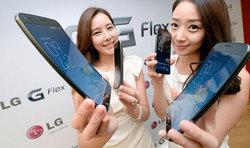 LG начинает поставки изогнутого смартфона G Flex