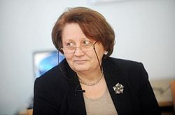 Лаймдота Страуюма – первая женщина-премьер в истории Латвии