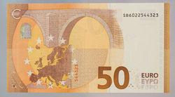 Европа разработала обновленную банкноту в 50 евро