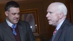 Евреи США и Израиля критикуют Маккейна за встречу в Киеве с Тягнибоком