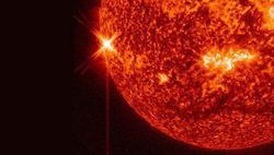 На Солнце произошла самая мощная вспышка за последние 2 года