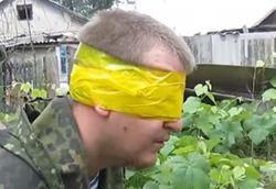 В зоне АТО поймали российского контрактника