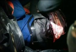 Активистов Евромайдана в Харькове бьют ножами и жгут им автомобили