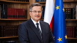 Бронислав Коморовский призывает Германию усилить давление на РФ