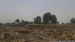 Жители Шахрисабза Узбекистана жалуются на отсутствие компенсации за снесенное жилье