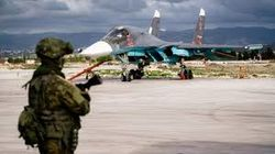 Российская авиабаза в Сирии Хмеймим