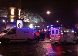 В парижском Дворце спорта взорвалась бомба - последствия
