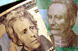На бирже доллар рухнул до отметки 21,5 гривны
