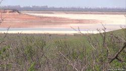 В Крыму высохло Межгорное водохранилище