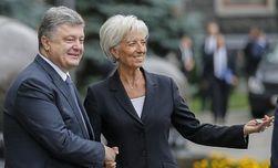 Порошенко и Лагард обсудили новый транш МВФ