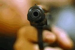 Видео грабителя банка в Борисполе