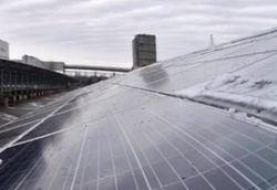 В чернобыльской зоне запустили солнечную электростанцию