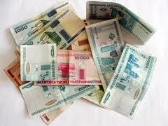 Белорусский рубль упал к основным валютам