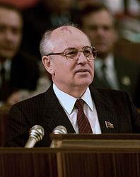 Горбачев заявил о поддержке аннексии Крыма