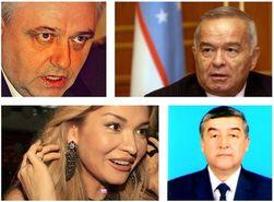 Гульнара Каримова в 5,2 раза опередила отца по популярности в Интернете