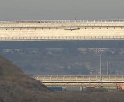 СМИ сообщают о проседании опор Керченского моста