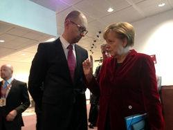 Эксперты спрогнозировали итоги встречи Яценюка с Меркель