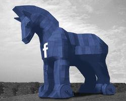 В Facebook распространяются спам-сообщения с вирусами