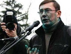 МВД Украины о подробностях инцидента с зеленкой против Луценко
