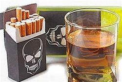 Ученые: Сигарета – минус 14 минут жизни, порция алкоголя – минус 7 часов
