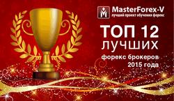 MasterForex-V Expo назвал лучших Форекс-брокеров 2015 года
