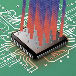 Процессоры будут охлаждать с помощью углеродных нанотрубок