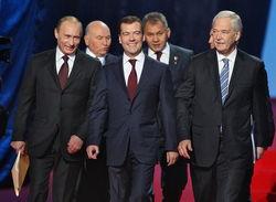 Дмитрий Медведев и Сергей Шойгу названы самыми популярными в Интернете министрами РФ